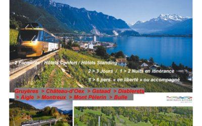 Eco-Tour TRAIN / BUS / CHEMIN DE FER DE MONTAGNE