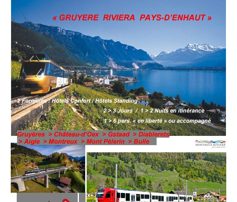 Eco-Tour TRAIN / BUS / CHEMIN DE FER DE MONTAGNE
